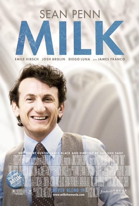"""L'affiche du film """"Milk"""" de Gus Van Sant"""