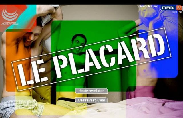 Québec : Le Placard, émission de télévision gay sur internet