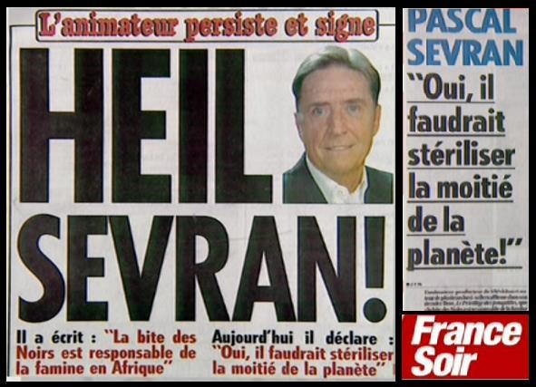 """Pascal Sevran : """"Heil !"""""""