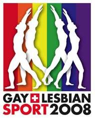 Logo sport gay et lesbien 2008