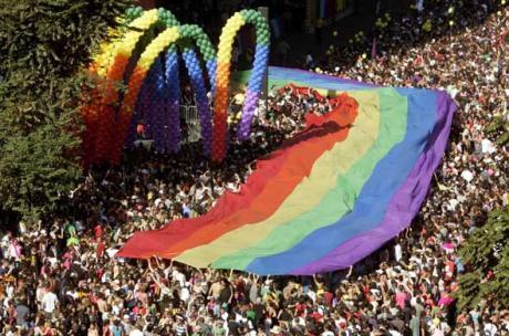 Brésil : la Gay pride de Sao Paulo en 2007, 3,5 millions de personnes