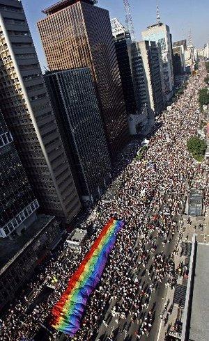 Saoi Paulo : Gay pride 2007