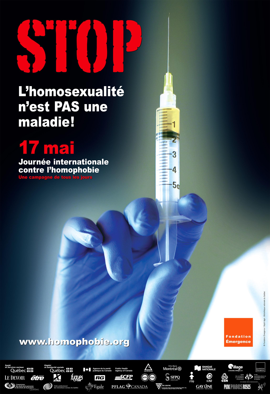 Homophobie : affiche 2008
