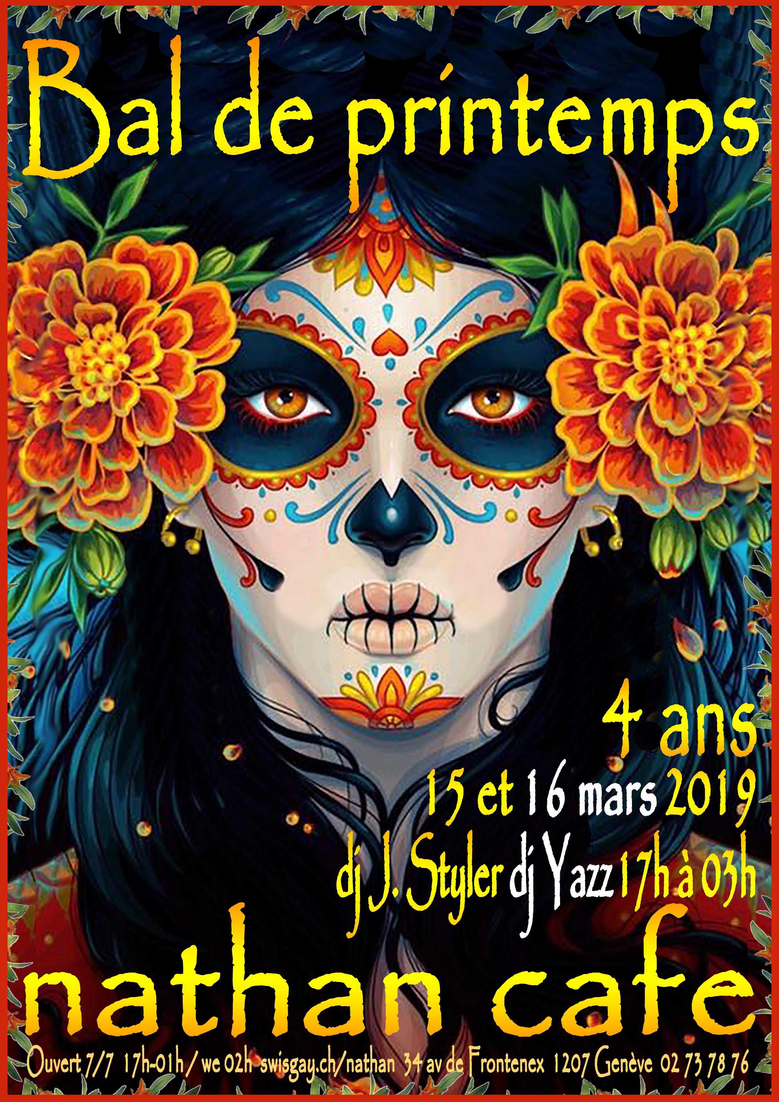 Nathan Café Genève - 15 et 16 mars 2019 : 4 ans !