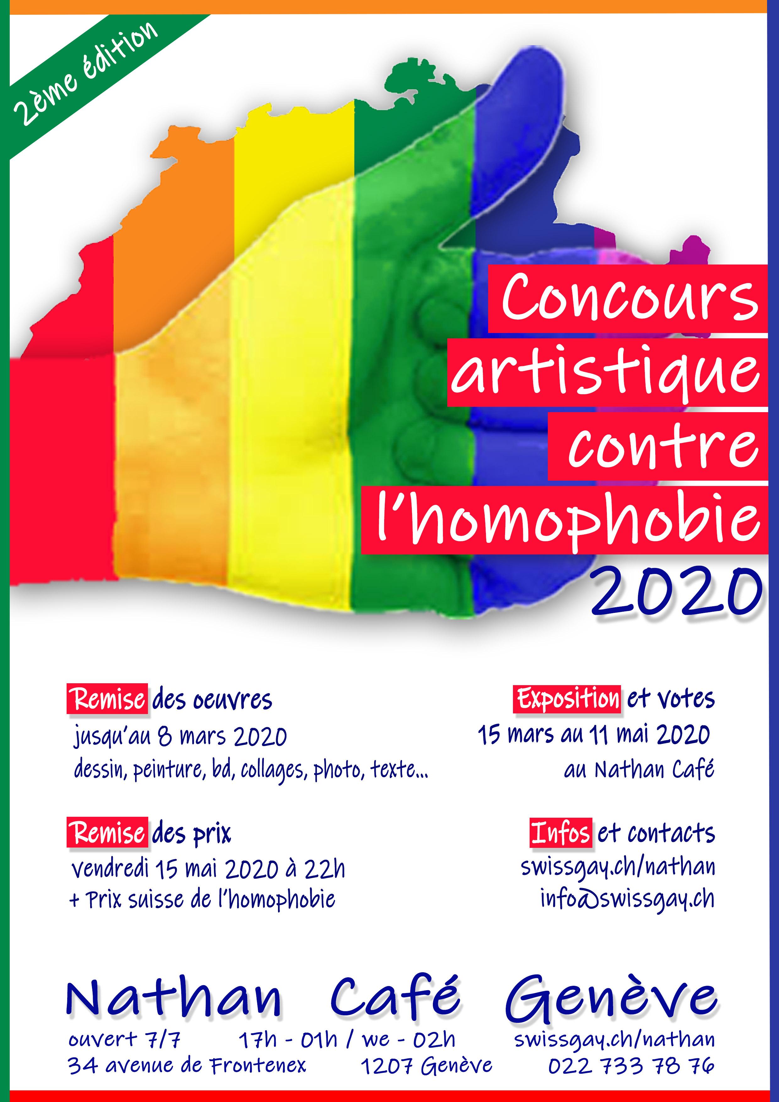Nathan Café - Concours artistique contre l'homophobie 2020