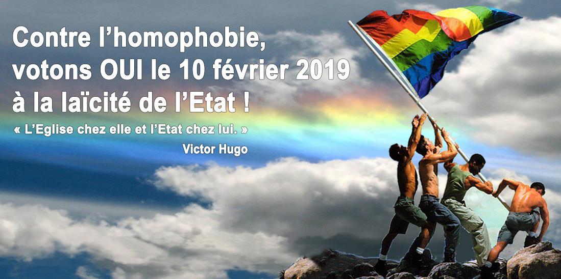 Genève - OUI à la laïcité de l'Etat - 10 février 2019